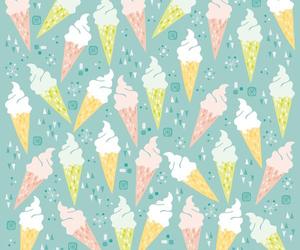 background, ice cream, and love image