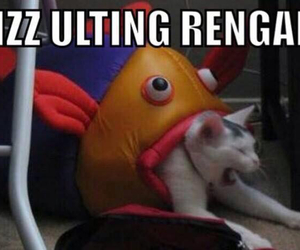 fizz, league of legends, and rengar image