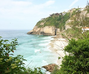 beach, brazil, and paradise image