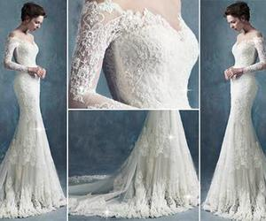 cool, wedding dress, and we❤it image