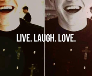 one direction, laugh, and love image