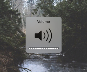 music and volume image