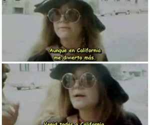 janis joplin, spanish, and subtitles image