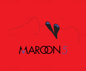 album, bands, and maroon 5 image