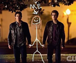 the vampire diaries, tvd, and me image