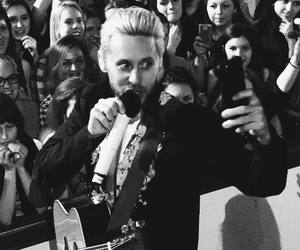 thirty seconds to mars, love lust tour, and mars in russia image