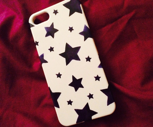 iphone, stars, and iphone cover image