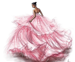 pink, dress, and rihanna image