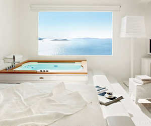 sea, white, and room image
