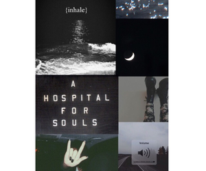 black, bring me the horizon, and Collage image