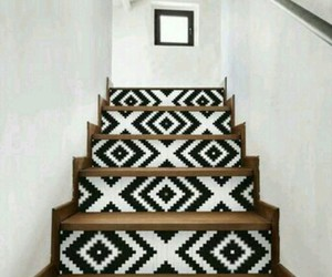 decoration, home, and stairs image