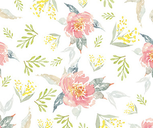 background, pattern, and floral image