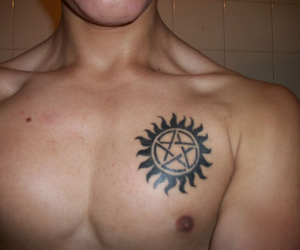 supernatural and tattoo image