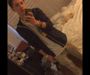 snapchat, carter reynolds, and magcon image