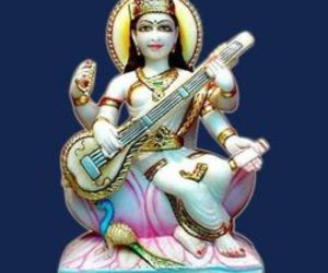 art, Hindu, and goddess image