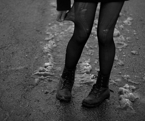 boots, legs, and black image