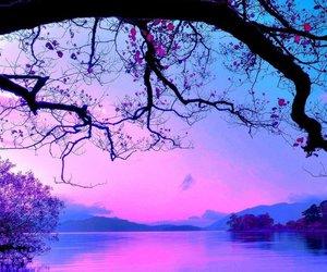 blue, lake, and mountain image