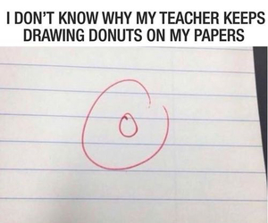 donuts, funny, and lol image