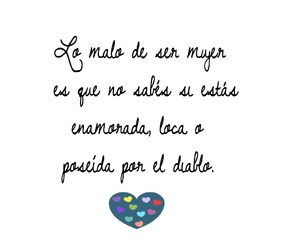 frase, mujer, and quote image