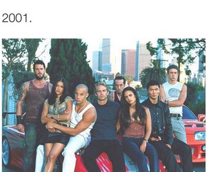 fast and furious, 2001, and paul walker image