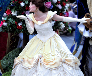 beauty and the beast, belle, and fof image