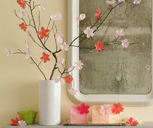 flowers and paper flowers image