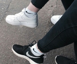 black, pale, and style image