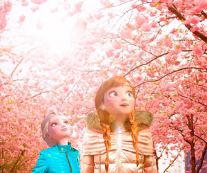 anna, frozen, and japan image