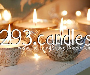 candles, photography, and things i love image