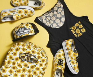 sunflower and vans image