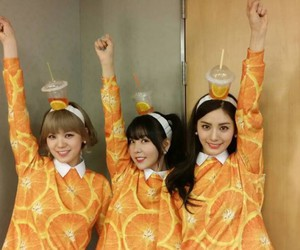 orange caramel, after school, and lizzy image
