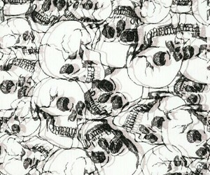 wallpaper and skull image