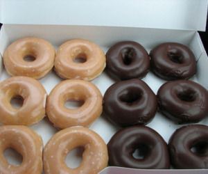breakfast, donuts, and tumblr image