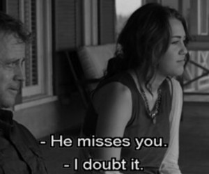 miley cyrus, the last song, and quotes image