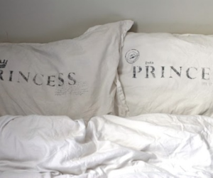 princess, prince, and bed image