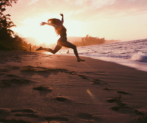 beach, fitness, and fun image