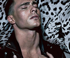 b&w, colton haynes, and black and white image