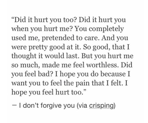 i hate you, sad, and quote image