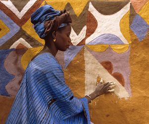art, woman, and margaret courtney-clarke image