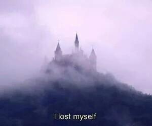 grunge, sad, and i lost myself image
