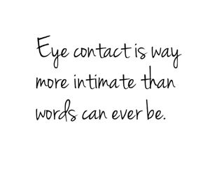 contact, eye, and happiness image