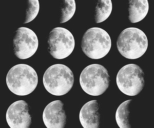 moon, black, and wallpaper image