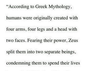 Zeus and love image