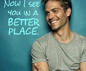 paul walker, brian o'conner, and I Love You image