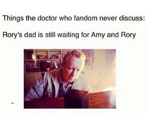 doctor who, brian williams, and amy pond image
