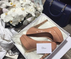 shoes, dior, and heels image