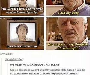 doctor who and bernard cribbins image