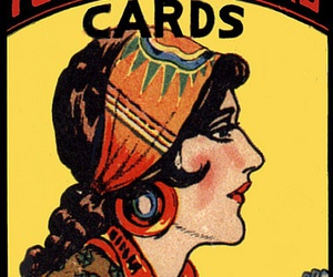 gypsy and fortune telling cards image