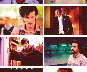 doctor who, eleventh doctor, and matt smith image