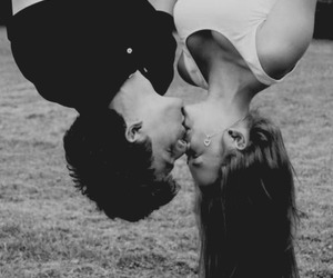 upside down kiss image